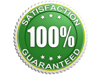30 Day Satisfaction Guarantee in San Diego, Temecula, Ontario, Palm Springs, CA