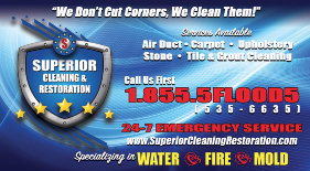 Emergency Cleaning + Restoration Services in Southern California