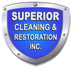 Superior Cleaning & Restoration, Inc. Shield of Trust Logo